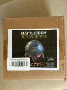 Battletech Fortress Dropship Clan Invasion Kickstarter (NEW)