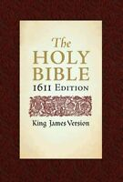 Holy Bible King James Version : 1611 Edition, Hardcover, Brand New, Free ship...