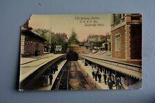 R&L Postcard: Tunbridge Wells Railway Station SE&C Platform Used 1919