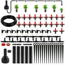 Automatic Irrigation System Timer Drip Sprinklers Garden Plant Self Watering Kit