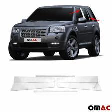 Fits Land Rover LR2 2008-2015 Chrome Window Panel B Pillar Trim S.Steel 6 Pcs