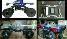 Everest 10, SCX10 scale chassis kit upgrade Redcat axial. Made of 6061 aluminum.