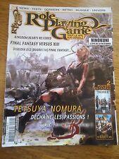 REVUE MAGAZINE ** ROLE PLAYING GAME n°29 ** JEUX VIDEOS RPG FANTASY NINOKUNI