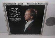 411 658-1 Mozart Symphonies Nos. 41 & 34 AAM Jaap Schroder Christopher Hogwood