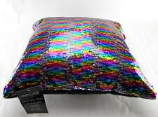 New Park Lane Decorative Pillow with Reversible Sequins Multicolored