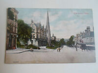 Vintage Colour Postcard THE GROVE, ILKLEY Circa Early 1900's