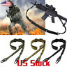 2 Point Gun Sling Shoulder Strap Rifle Sling Buckle Shotgun Gun Belt Hunting US