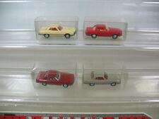 L64-0,5# 4x Wiking H0, Mercedes-Benz MB, 12 140, 350 SL, TOP