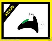 Wedge Gasket - Rubber Door And Window Seal Gasket - Black - R3233G - uPVC Gasket
