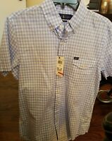 Polo Ralph Lauren Mens Shirt Blue Size Small S Button Down Plaid $89.50