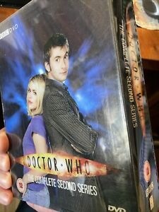 Doctor Who Series 2 boxed set DVD complete in 6 disks,inc exptras David Tennant