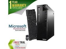 Refurbished Lenovo ThinkCentre M93P Desktop SFF Intel Core i5 4570 3.2G / 4G DDR