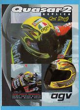 "MOTOSPRINT994PUBBLICITA'/ADVERTISING-1994- AGV ""QUASAR 2 BIAGGI REPLICA"""