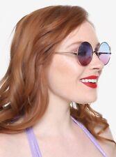 Rose Gold Mermaid Fram Gradient Lens Round Sunglasses Ariel The Little Mermaid