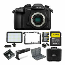 Panasonic Lumix GH5 4K Mirrorless Camera Body with 128GB Card