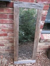Recycled Timber Outdoor Mirror