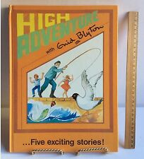 Enid Blyton HIgh Adventure large HC 1965 Hard Cover Vintage Story Book