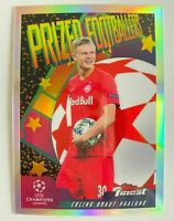 2019-20 Topps Finest UEFA CL Prized Footballers Erling Haaland RC Rookie