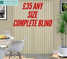 Made To Measure Vertical Blinds £35 ANY SIZE £35 blind HIGH QUALITY £35