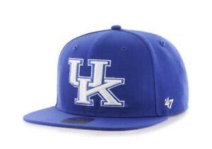 Kentucky Wildcats hat cap nwt new Royal Jumbo logo Adjustable Snapback