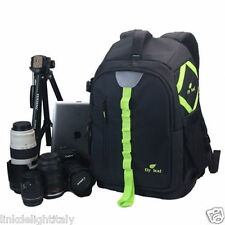 ZAINO BORSA FOTOGRAFICA REFLEX PENTAX CAMERA BACKPACK BAG CASE LUXURY WATERPROOF