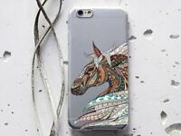 Horse Case For iPhone XS Max Rubber Cover iPhone 7 8 Plus Gel Case iPhone 5s 6s