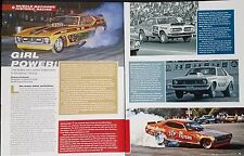Girl Power - Ladies of America Racing  4-Page Article - Free Shipping