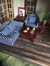 1/2 scale dollhouse miniatures Living Room Set