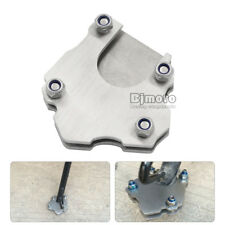 Universal Stainless Steel Side Kickstand Stand Foot Extension Plate US STOCK