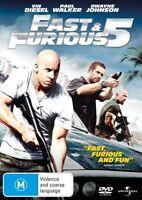 Fast & Furious 5 DVD region 4 Like New