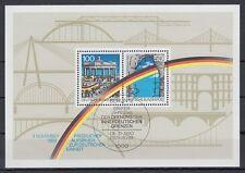 GERMANY federale BRD 1990 θ Berlin bl.22 sconsiderata border opening Brandeburgo CANCELLO