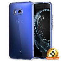 HTC U11 Spigen® [Liquid Crystal] Ultra Slim Lightweight Clear TPU Case Cover