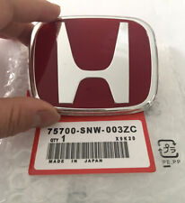Genuine Style Rear Red Badge for Honda 8th Accord Euro 2008 ~ 2015