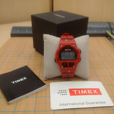 Timex Ironman Triathlon 8 Lap Red Digital Watch Ref. TW5K98100