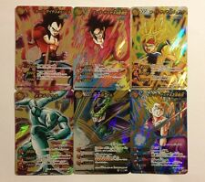 Dragon Ball Miracle Battle Carddass DB08 Super Omega Set 6/6