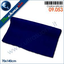 Moquette acustica liscia blu notte 70x140cm per interni, subwoofer a pianali