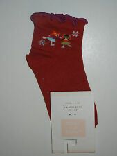 NWT Janie & Jack Skating Angel Red Socks 12-24 LR