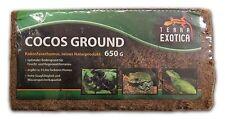 Terra Exotica Kokosfaserhumus Substrat Bodengrund Erde Humus 9L Cocos Ground 650