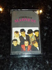 MADNESS - Complete Madness - 1980 UK 16-track compilation Cassette
