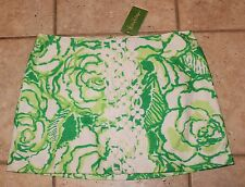NWT Lilly Pulitzer Womens Size 12 Resort White Heart Breakers Skirt