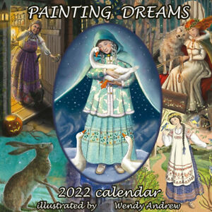 WENDY ANDREW 2022 WALL CALENDAR Pagan Wiccan GODDESS HOME OFFICE WORK PLANNER