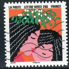 TIMBRE FRANCE  AUTOADHESIF OBLITERE N° 1193 / BONNE ANNEE / FETE DE FIN D'ANNEE