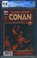 Savage Sword Of Conan 5 (Marvel) CGC 9.8 White Pages Alex Ross Cover
