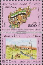 Afghanistan 1708-1709 (kompl.Ausg.) postfrisch 1996 Jahrestage und Ereignisse