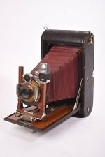 Folding camera Kodak No.4-A model A with Bausch & Lomb rapid rectilinear lens