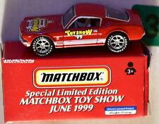 MATCHBOX TOY SHOW JUNE 1999 '65 MUSTANG