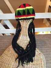 Perruque rasta wicked lan party mlg nouveauté superstar ganja weed tresses africaines Crotchett tisse