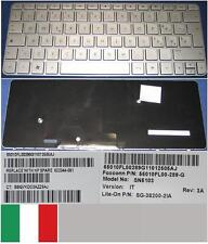 Clavier Qwerty Italien HP MINI 210-2000 SN5103 622344-061 55010FL00-289-G Silver