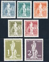 BERLIN 1949, MiNr. 35-41, sauber ungebraucht, Mi. 220,-