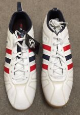 ADIDAS TEAM GB LONDON 2012 ADIPURE MEN'S WHITE TRAINERS - LIMITED EDITION- SZ 11